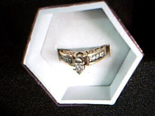 Lady's Diamond Fashion Ring 11 Diamonds .50 Carat T.W. 10K Yellow Gold 3.79g