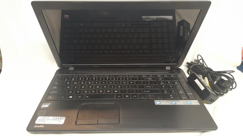 "TOSHIBA SATELLITE Laptop C55D-A5120, 15.6"" LED Screen, 4 GB, 500GB, Windows 8.1"