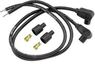 BIKERS CHOICE Motorcycle Part 109707 BLACK UNIVERSAL PLUG WIRE SET