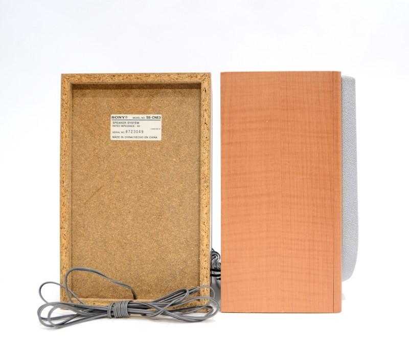 Pair of Sony SS-CNE3 2-Way Bookshelf Speaker
