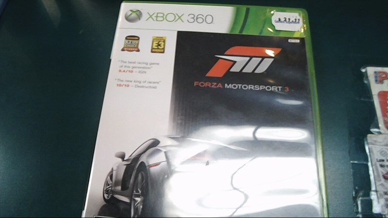 Microsoft XBOX 360 Game FORZA MOTORSPORT 3
