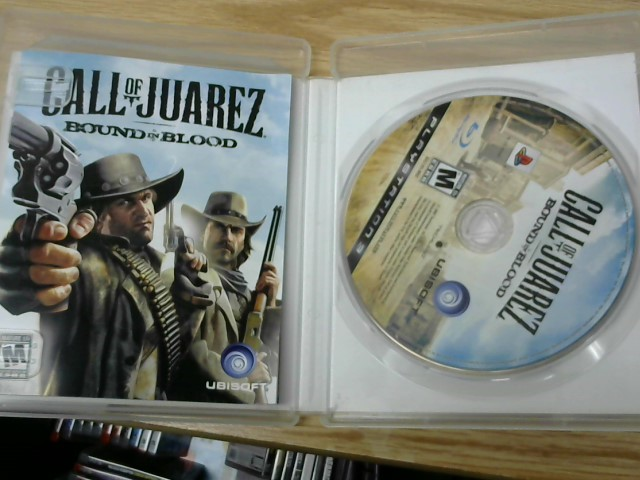 SONY Sony PlayStation 3 Game CALL OF JUAREZ BOUND IN BLOOD