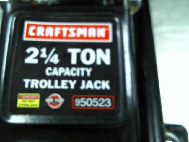 CRAFTSMAN Floor Jack 950523 2 1/4 TON TROLLEY JACK