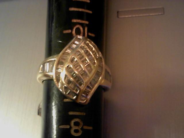 Lady's Diamond Fashion Ring 100 Diamonds 1.00 Carat T.W. 14K Yellow Gold 8.3g