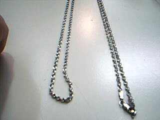 "26"" Silver Rope Chain 925 Silver 2.6g"