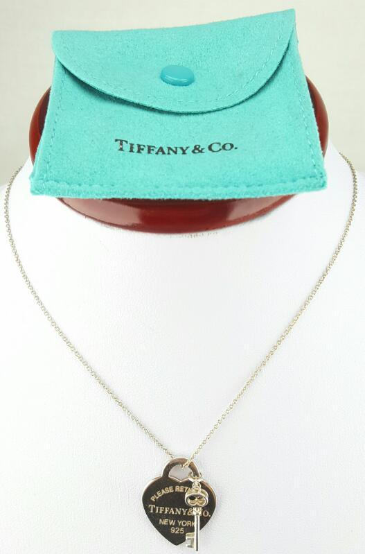 "Tiffany & Co. 16"" Silver Chain 925 Silver 7.2g"