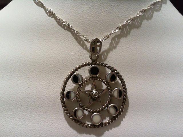 Silver Pendant 925 Silver 14.2g