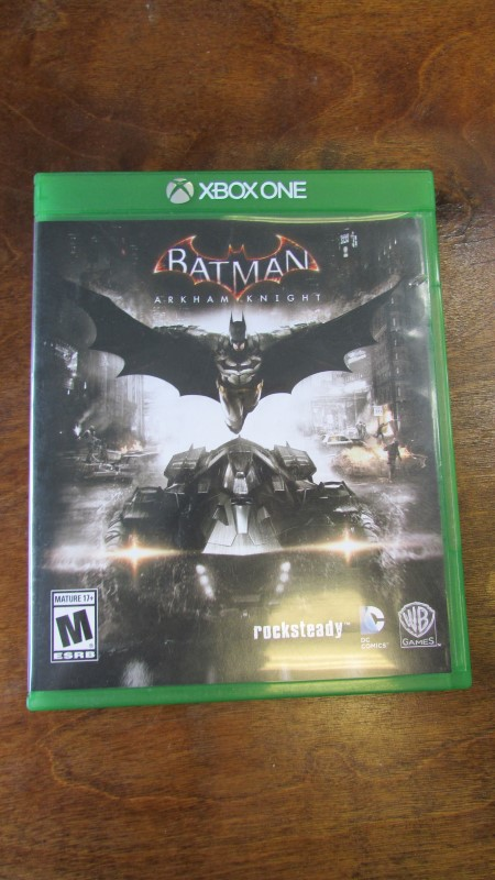 MICROSOFT Microsoft XBOX One Game BATMAN ARKHAM KNIGHT X BOX ONE