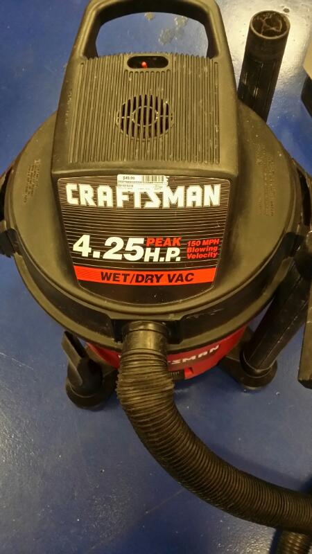 CRAFTSMAN VACUUM CLEANER 1131778