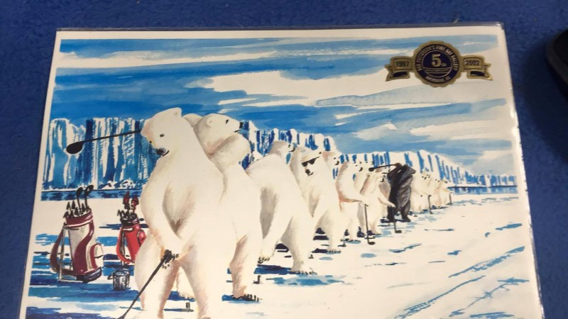 POLAR BEAR DRIVING RANGE BY BOB PATTERSON