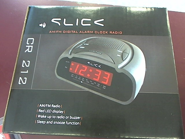 SLICK Home Audio Parts & Accessory CR212 RADIO