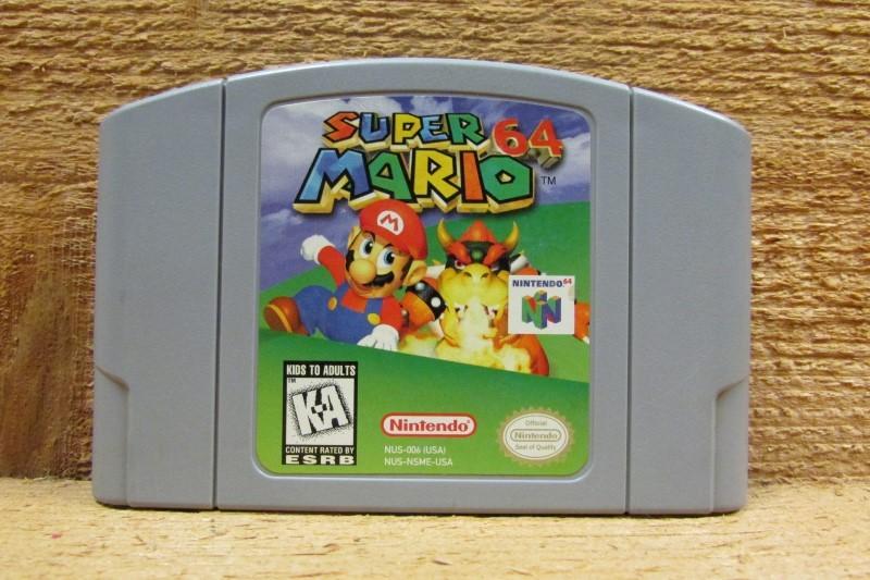 NINTENDO Nintendo 64 Game SUPER MARIO 64