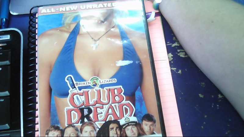 BROKEN LIZARD'S CLUB DREAD DVD MOVIE