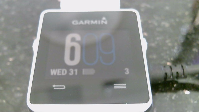 Garmin Vivoactive Sports GPS Smart Watch Fitness Tracker White