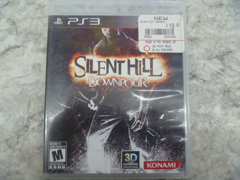 SONY SILENT HILL DOWNPOUR (PS3)