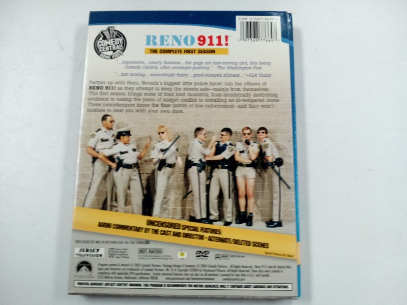 DVD MOVIE DVD RENO 911 THE COMPLETE FIRST SEASON