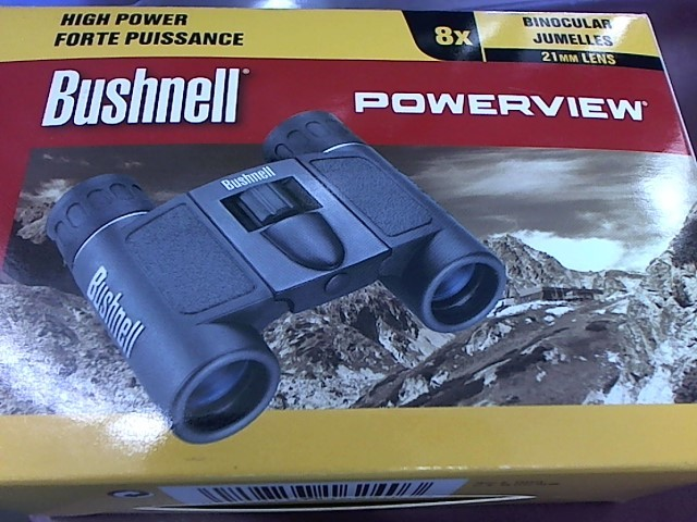 BUSHNELL Binocular/Scope POWERVIEW 8X21