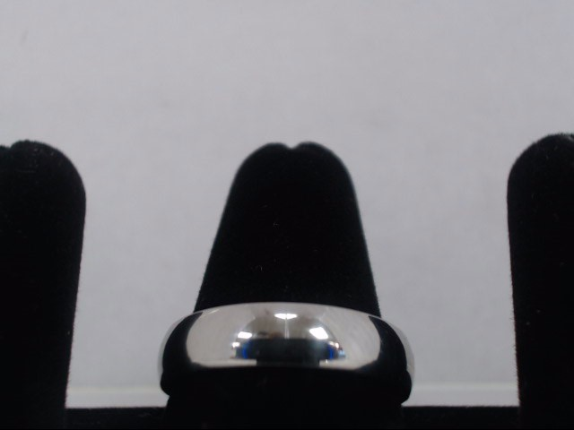 Gent's Gold Ring 14K White Gold 3.8g