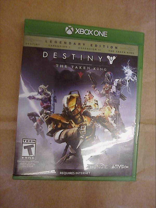 MICROSOFT XBOX One Game DESTINY THE TAKEN KING LEGENDARY EDITION