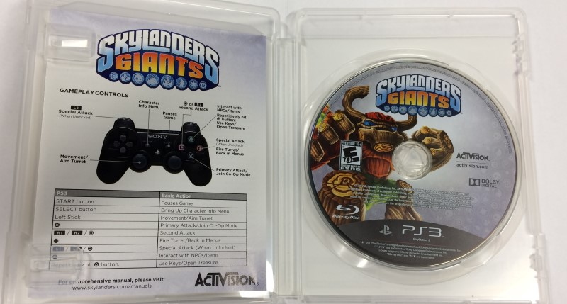 Skylanders Giants - Game Only (Sony PS3 Playstation 3, 2012)