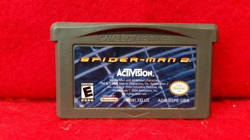 Spider-Man 2 (Nintendo Game Boy Advance, 2004)