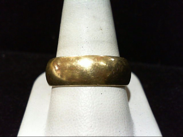 Gent's Gold Ring 14K Yellow Gold 9.6g 12.5
