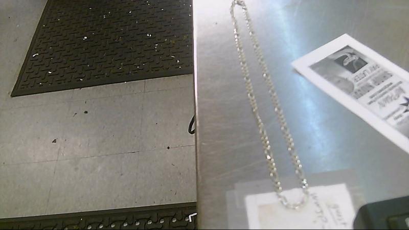 Silver Figaro Chain 925 Silver 8.86g