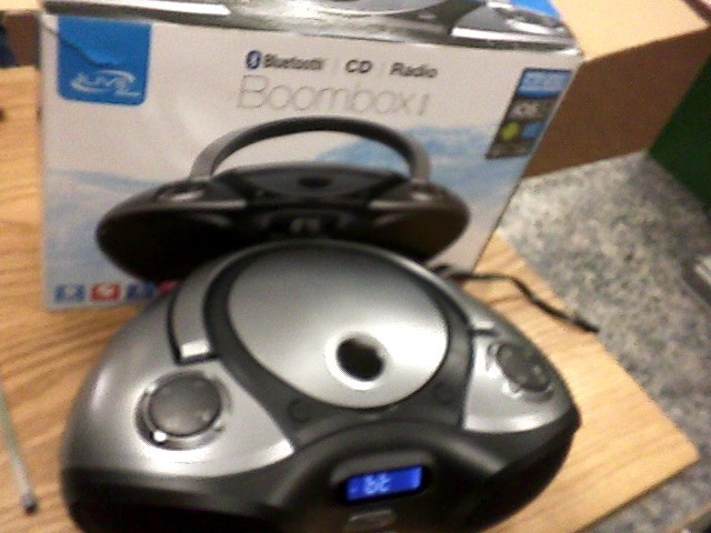 ILIVE CD Player & Recorder IBC233B
