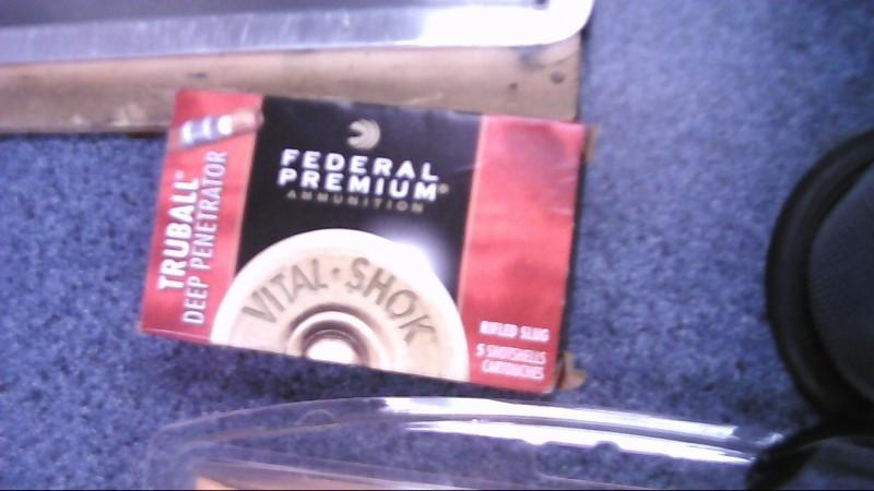 FEDERAL AMMUNITION Ammunition 12GA TRUBALL SLUG