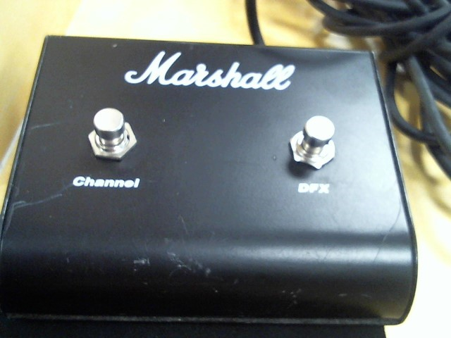 MARSHALL Electronic Instrument FOOTSWITCH