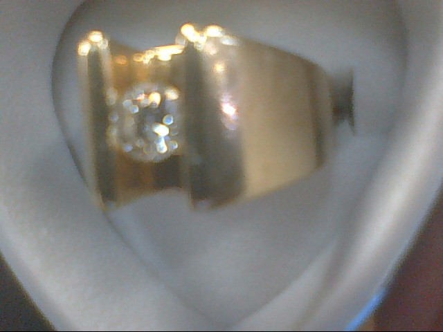 Gent's Diamond Solitaire Ring .40 CT. 14K Yellow Gold 10.5g