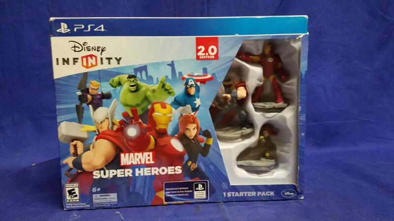DISNEY INFINITY MARVEL SUPER HEROES 2.0 EDITION STARTER PACK (PS4)