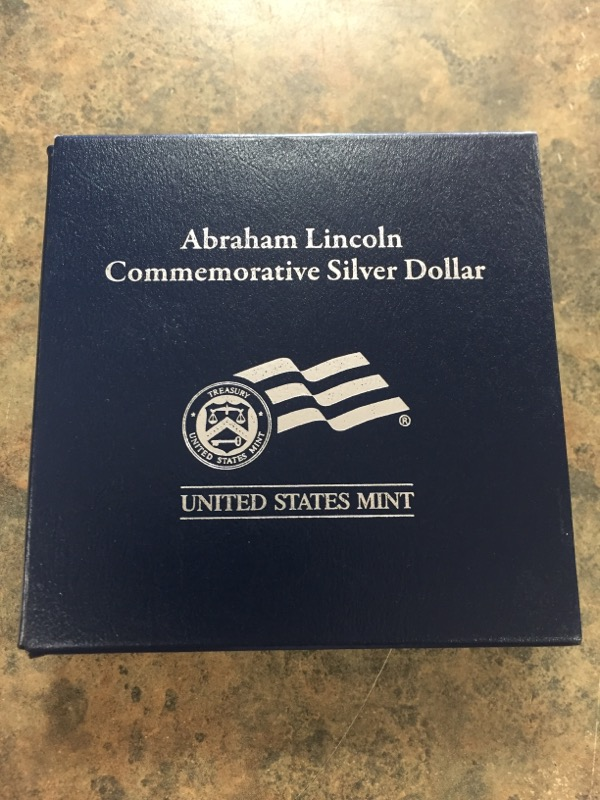 UNITED STATES Silver Coin 2009 ABRAHAM LINCOLN