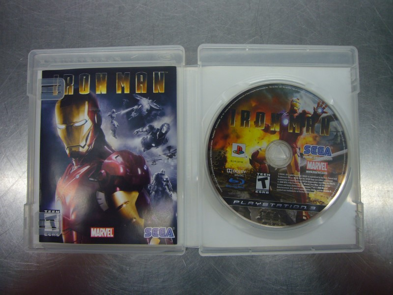 SONY PlayStation 3 Game IRON MAN