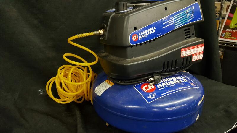Campbell Hausfeld 4 Gallon Pancake Air Compressor