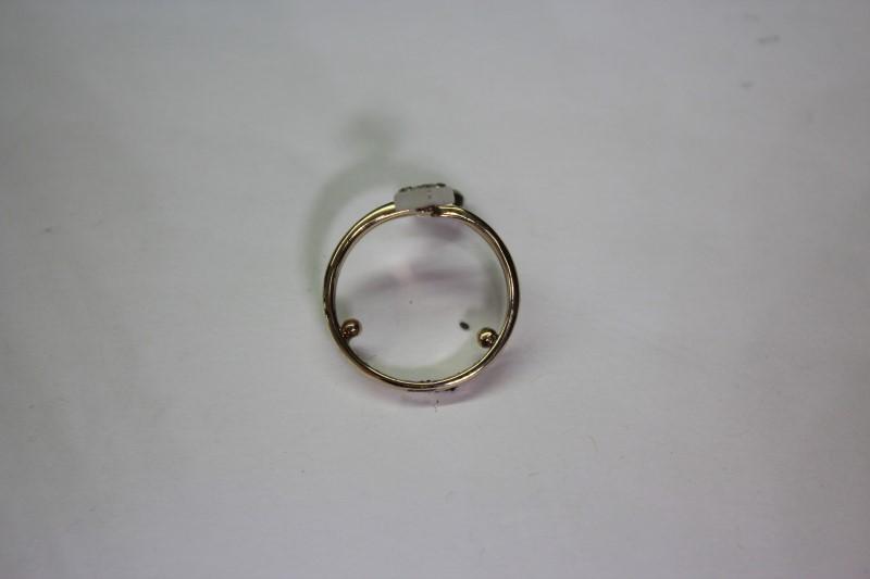 Lady's Diamond Fashion Ring 12 Diamonds .12 CTW 14K Yellow Gold 3.1g Size: 3.5