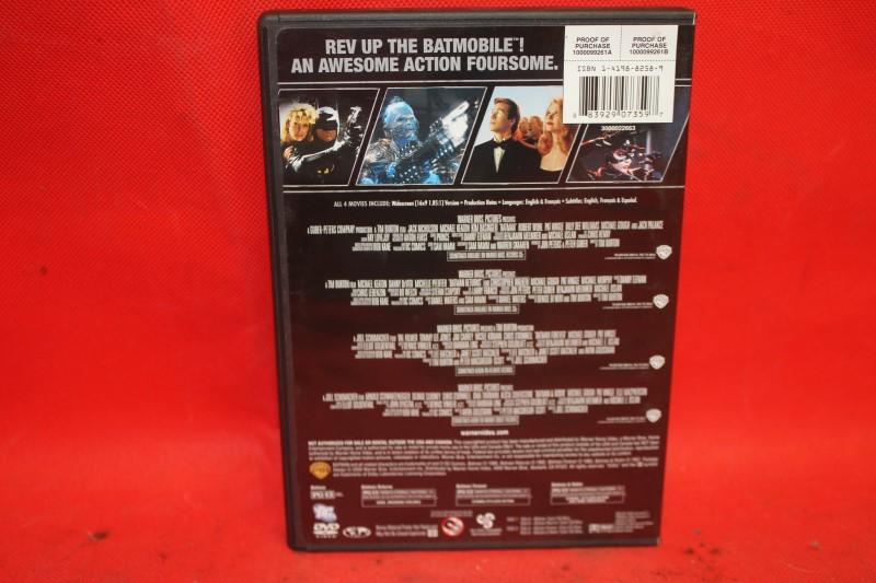 4 Film Favorites: Batman Collection (DVD, 2009, 2-Disc Set)