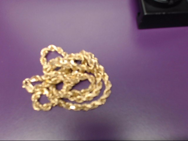 Gold Rope Chain 14K Yellow Gold 15.47g