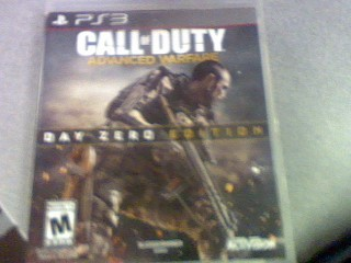 SONY Sony PlayStation 3 Game CALL OF DUTY ADVANCED WARFARE DAY ZERO EDITION PS3