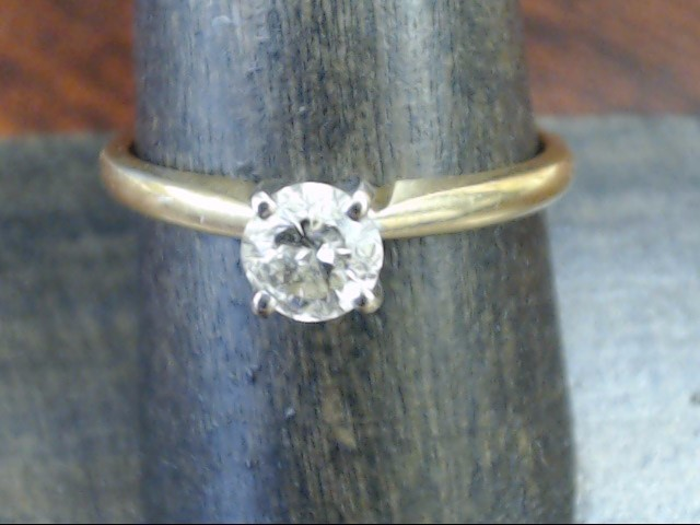VINTAGE NATURAL DIAMOND ENGAGEMENT WED RING SOLID 14K GOLD SIZE 9
