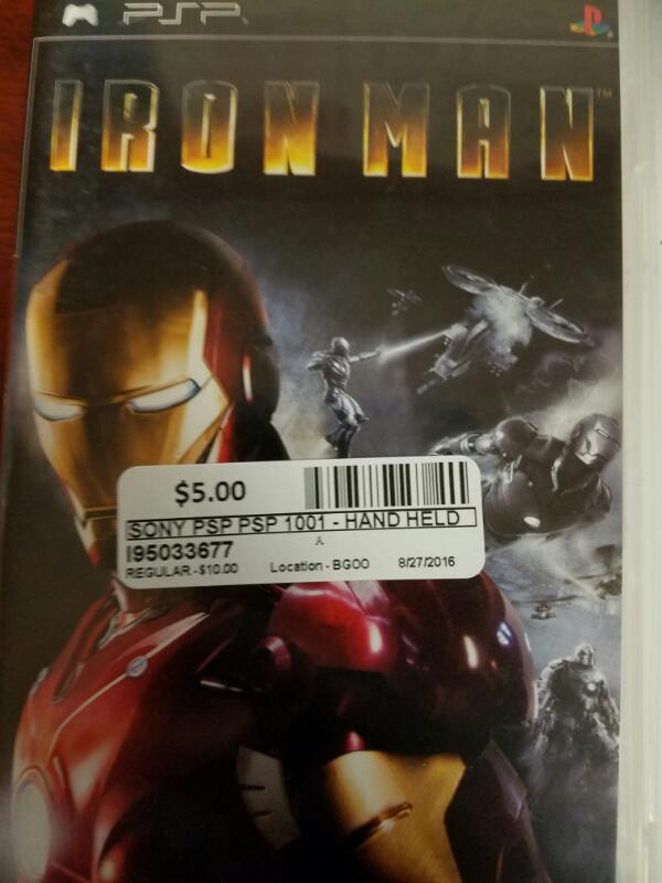 Iron man - PSP GAMES