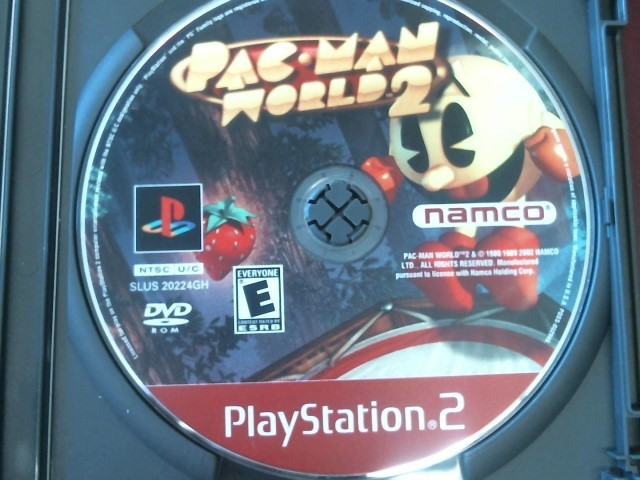 PLAYSTATION 2 PAC MAN WORLD 2 - DISC ONLY
