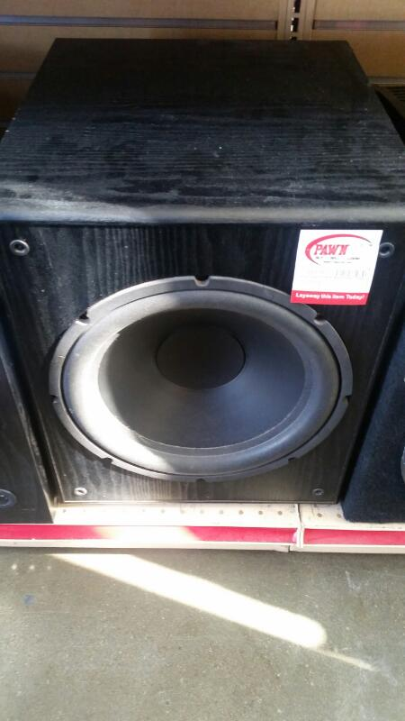 DUAL Speakers/Subwoofer SUBWOOFER L12SW