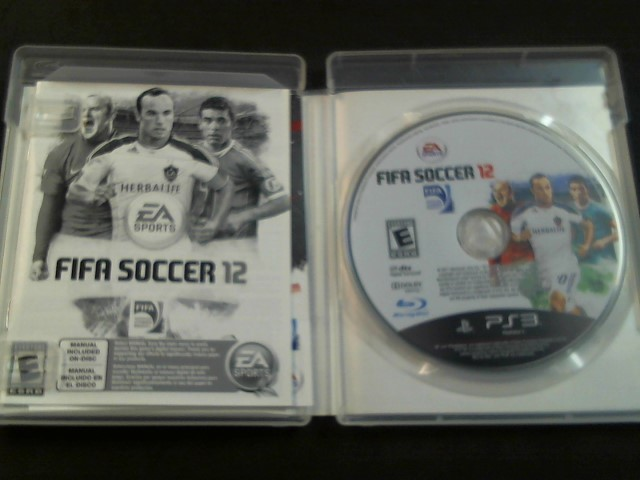 PlayStation 3 Game FIFA SOCCER 12