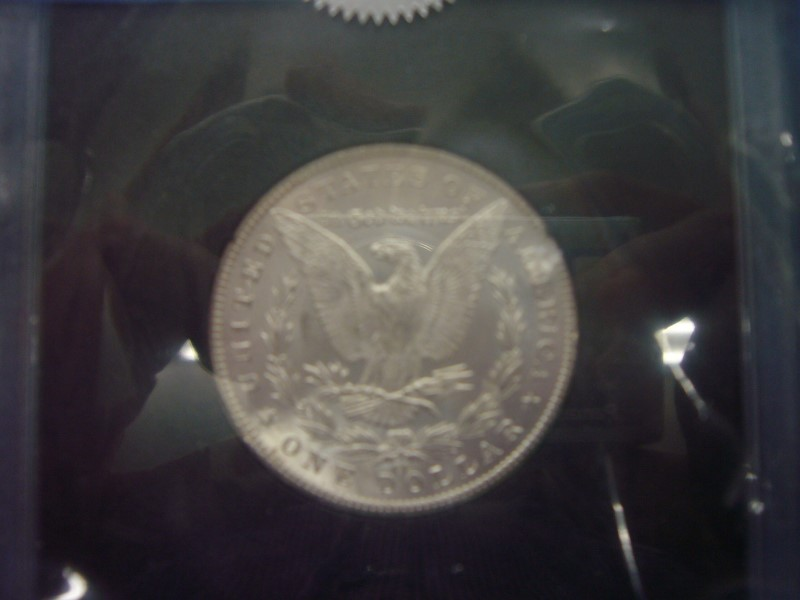 UNITED STATES Silver Coin MORGAN DOLLAR 1884 CC MS 63