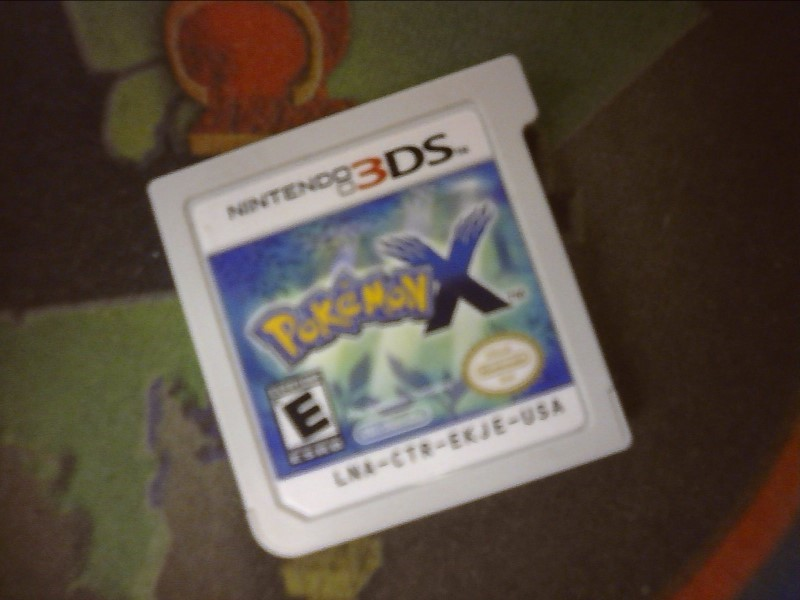 NINTENDO Game 3DS POKEMON X GAME ONLY