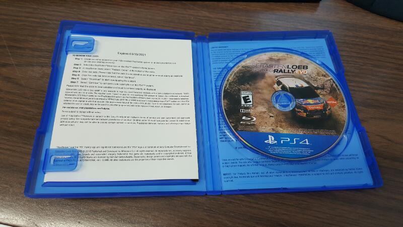 Sebastien Loeb Rally EVO: Day One Edition (Sony PlayStation 4, PS4)