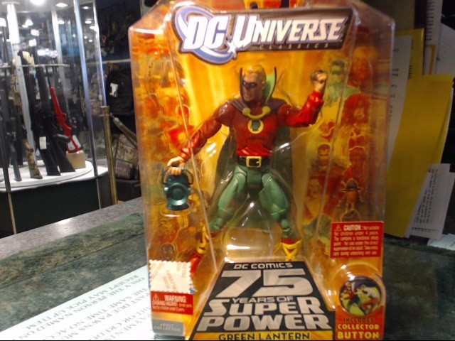 DC UNIVERSE GREEN LANTERN ACTION FIGURE