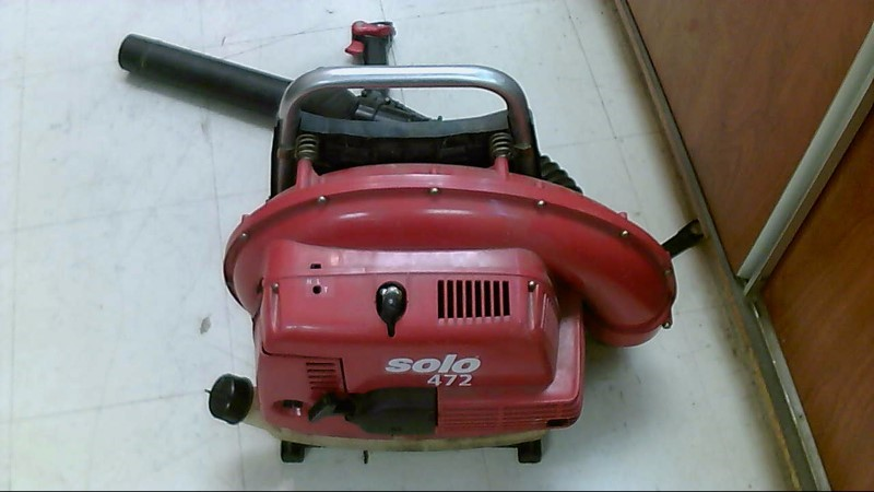 SOLO BACK PACK BLOWER 3.4HP MODEL 472