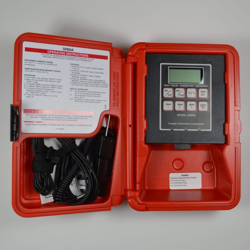 COOPER TOOLS Multimeter SH66A